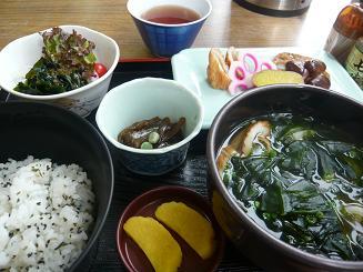 鳴門海峡、うづ乃家でのヘルシー定食