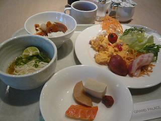 アグネスホテル朝食