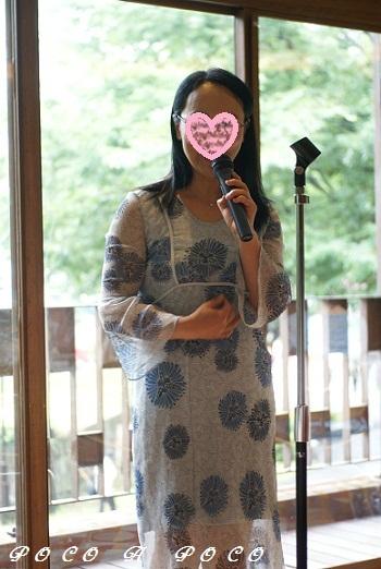 開会の挨拶 yukikoさん