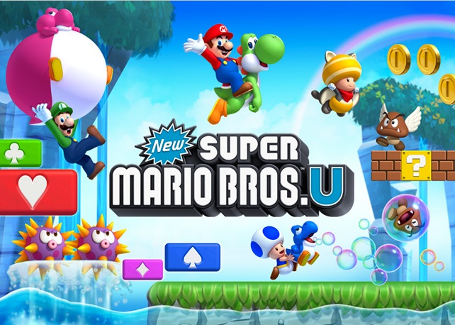 New SUPER MARIO BROS. Uのパッケージ画像