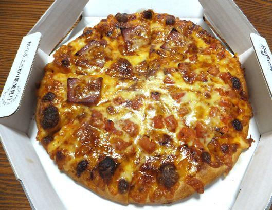 プレーンチーズピザ
