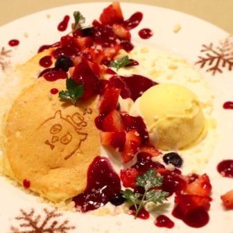 14クリスマスパンケーキ画像 - コピー