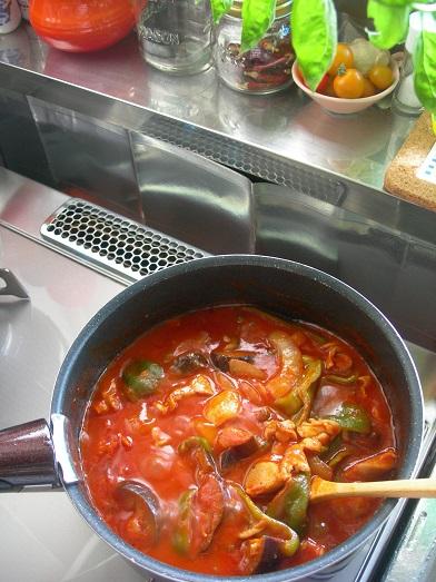 トマトの煮込み