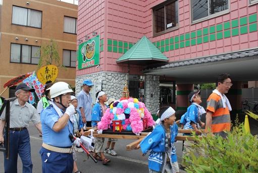 南加瀬中央町会 子供神輿3