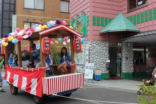 南加瀬中央町会 子供神輿2