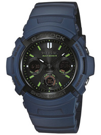 G-SHOCK Navy Blue AWG-M100NV-2AJF