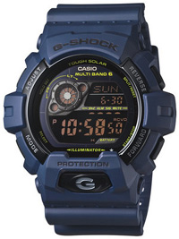 G-SHOCK Navy Blue GW-8900NV-2JF