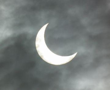 金環日食!