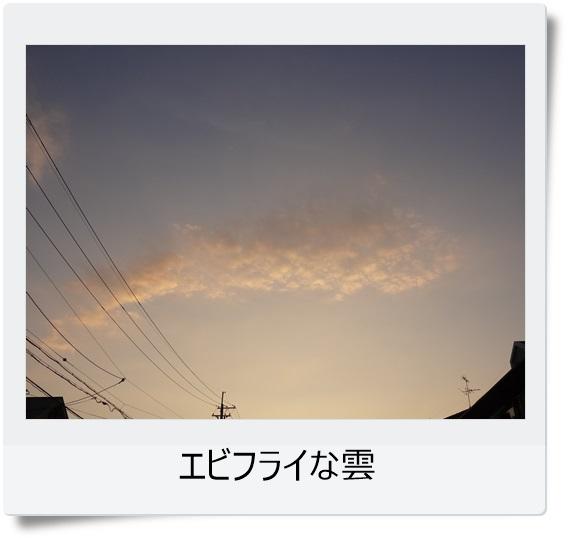 エビフライ雲