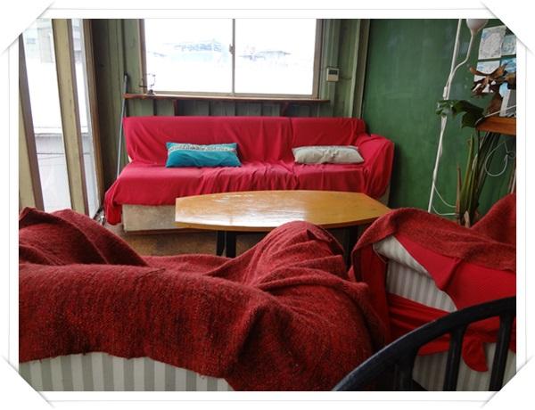5人掛けソファー席