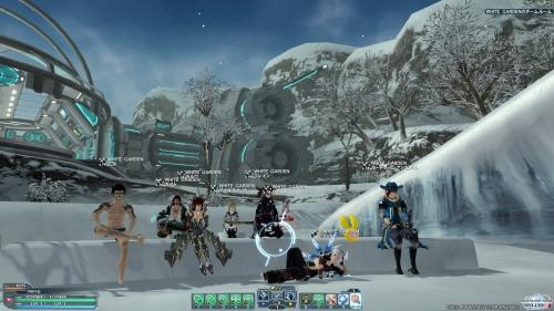 氷のチームルーム