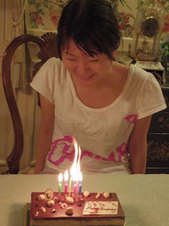 仁奈誕生日