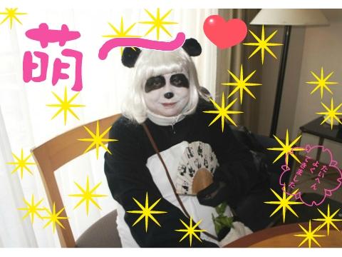 3)萌え~パンダちゃん