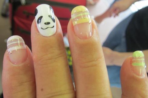 3)ぱんだちゃんの爪