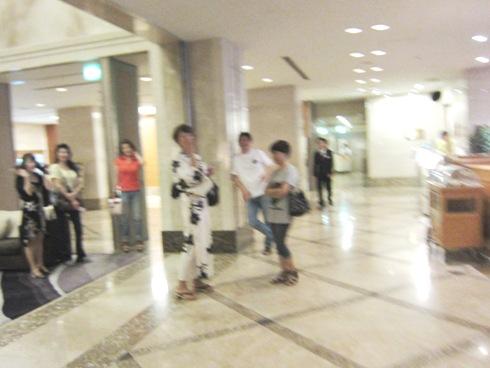 1)奈良日航ホテルロビー