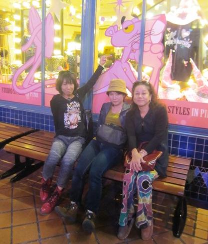 18)ピンクパンサーのショップ
