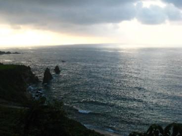 2012屏風岩夕陽