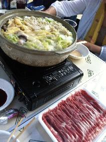 箕面キャンプ鍋