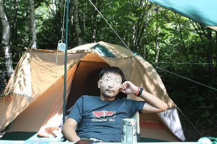 南乗鞍キャンプ3日目まったり
