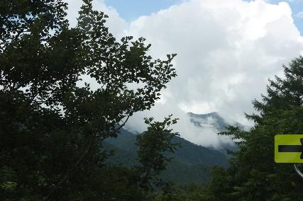 12南乗鞍キャンプ乗鞍岳
