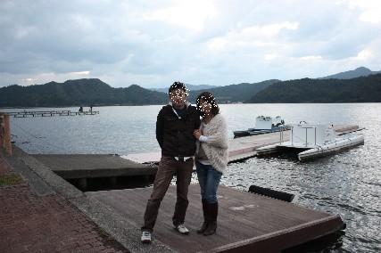 久々子湖ふたり