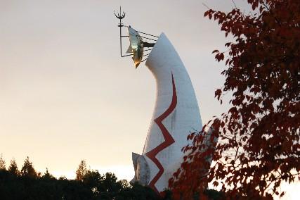 12仁BD万博紅葉と太陽の塔