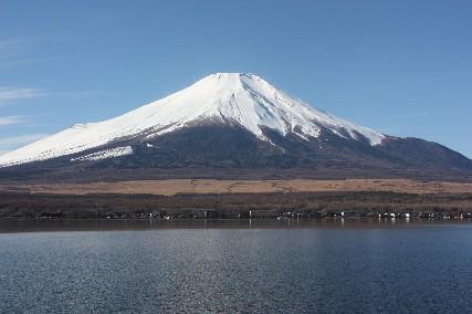 13お正月山中湖富士山