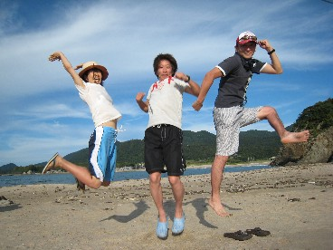 2013丹後半島高嶋海岸ジャンプ