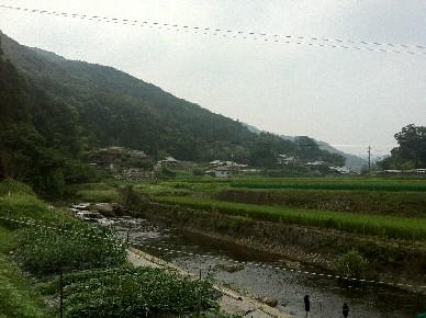 山空海温泉周辺景色
