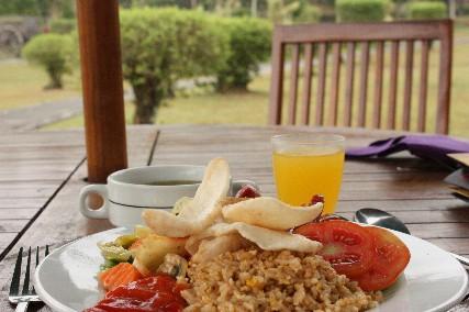 マノハラ朝食