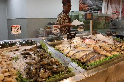 マリオボロSM地下鮮魚