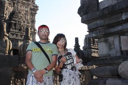 ブラフマ神殿ふたり
