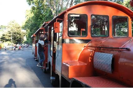 プランバナン園内バス