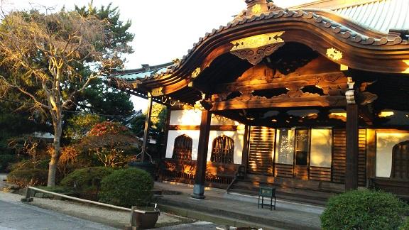 妙本寺の秋