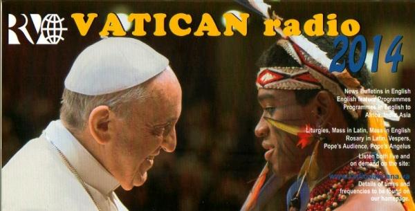 2013年11月29日受信 Vatican Radio