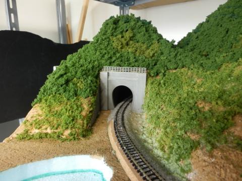 トンネル正面