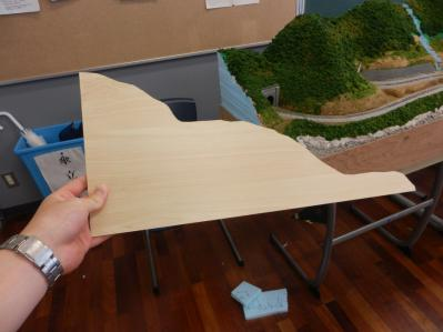 木目シート貼り付け1