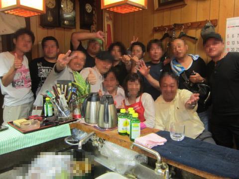 大阪ラーメンオフ会 ~居酒屋なかじま~-16