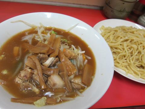 丸長・沼袋(つけそば 野菜)