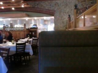 2012年07月29日 Romanos Macaroni Grill・店内