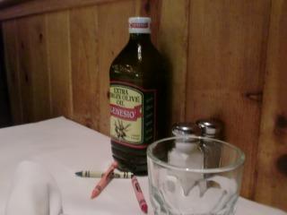 2012年07月29日 Romanos Macaroni Grill・テーブル
