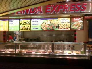 2012年08月04日 Panda Express・店内