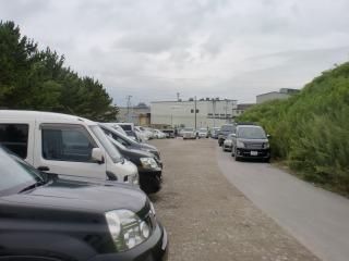 2012年08月15日 新港・駐車場