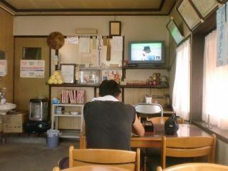 2012年08月22日 銀座食堂・店内