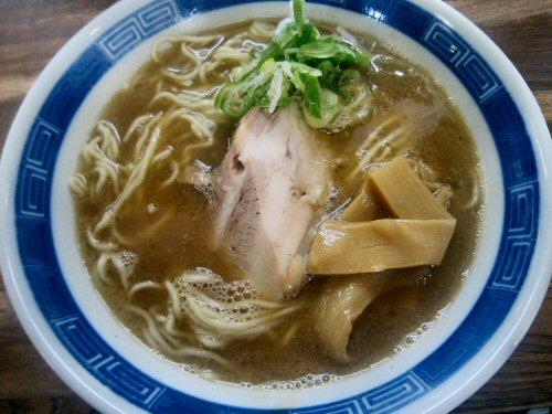 にぼたま中華そば(¥780)