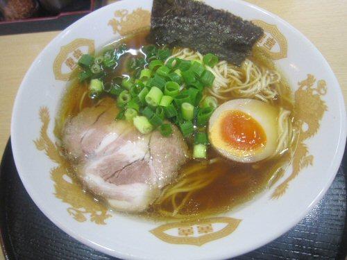 あごそば・しょうゆ(¥680)
