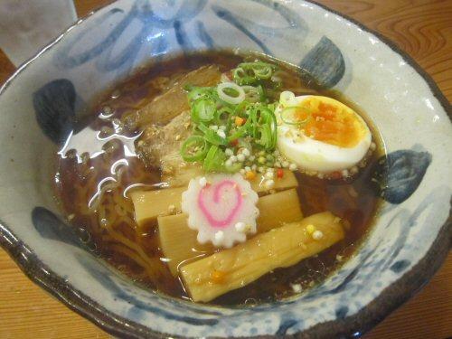 甘露醤油麺(¥700)