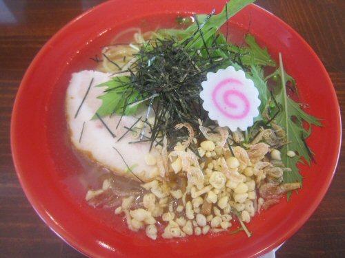 冷製シャイニング塩そば(¥680)