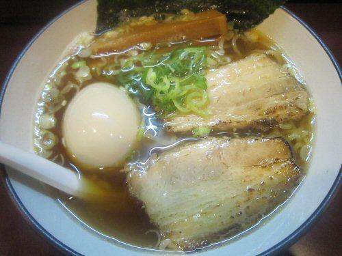 あっさりしょうゆ(¥650)+味玉
