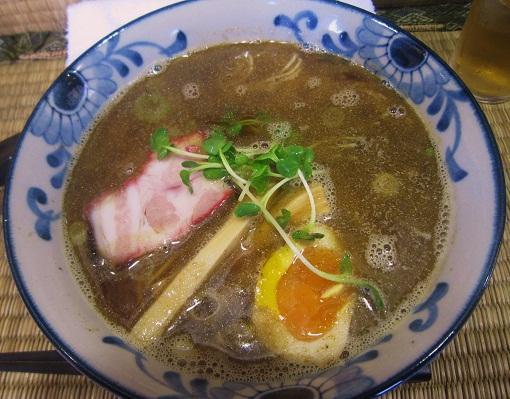 東京ソバ(¥650)+煮干し7倍(¥100)